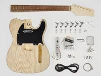 Bausatz, Teaser model, basswood body with swamp ash veneer, 22 frets