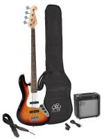 E-Bass Set SB1SK-3TS | SX electric bass pack