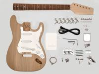 KIT-ST-30 | Boston guitar assembly kit, Stallion model, ash body, 21 frets