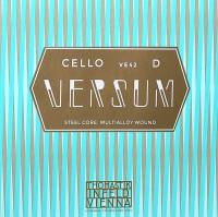 String for Cello D-2 4/4 Versum, Medium, Steel Core, Multi Alloy