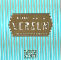 String for Cello G-3 4/4 Versum, Medium, Spiral Core, Tungsten/Chrom