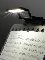 Rechargeable music stand light LED