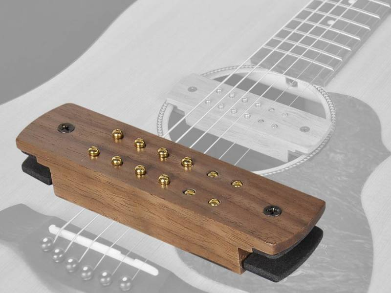 tonabnehmer f r akustische gitarre holz sound hole pickup. Black Bedroom Furniture Sets. Home Design Ideas